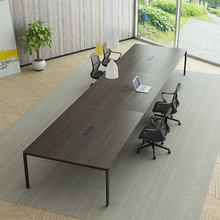 Trade assurance modern design boardroom office table set used 6 meter long 12 person conference table specifications