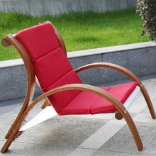 outdoor leisure garden chair sets for patio coffee chair and table set solid wood material