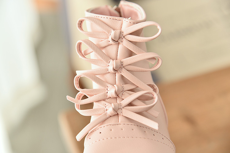 2019 autumn and winter Korean girls boots princess shoes baby shoes girls boots