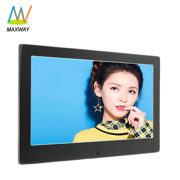 10 Inch Indoor Ads Monitor Digital Signage Totem Lcd Advertising Display Tv Screens With Usb/Sd Card Reader