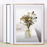 4x6 A3 Freedstanding Hanging Souvenir Aluminum Picture Frame Black Household Metal Photo Frame