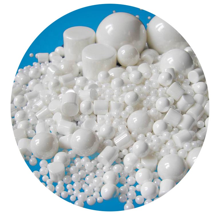 Ultra-fine Milling Yttrium Wearable Wholesale Nano Zirconia High Temperature Ceramic Beads 95% Grinding Ball