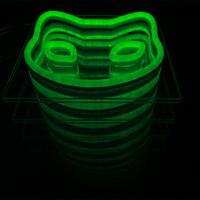 The effect of infinite extension led neon signs Custom light boxes and patterns