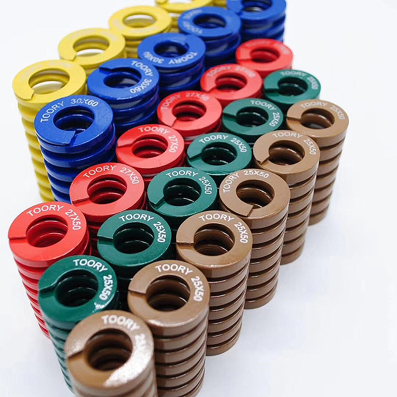 OEM manufacturer directly sells customized die <strong>spring</strong>, color customized <strong>spring</strong>