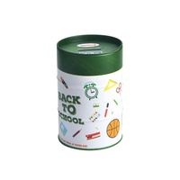 91x137Hmm round aluminium money coin canister with lid