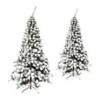 Artifical Unique Artificial Oil Led Fiber Optic Christmas Trees