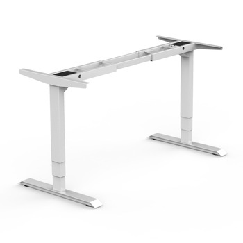 Height Adjustable Office Ergonomic Stand Up Computer Lift Sit Stand Metal Desk Frame