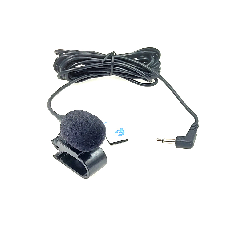 Car-mounted Microphone Stereo And Mono External Mic for walkie talkie Voice Amplifier Loudspeaker cellphone