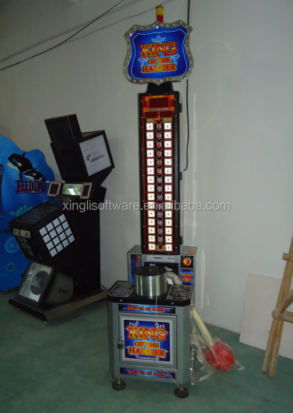 King of the Hammer ticket redemption game machine arcade boxing game machine