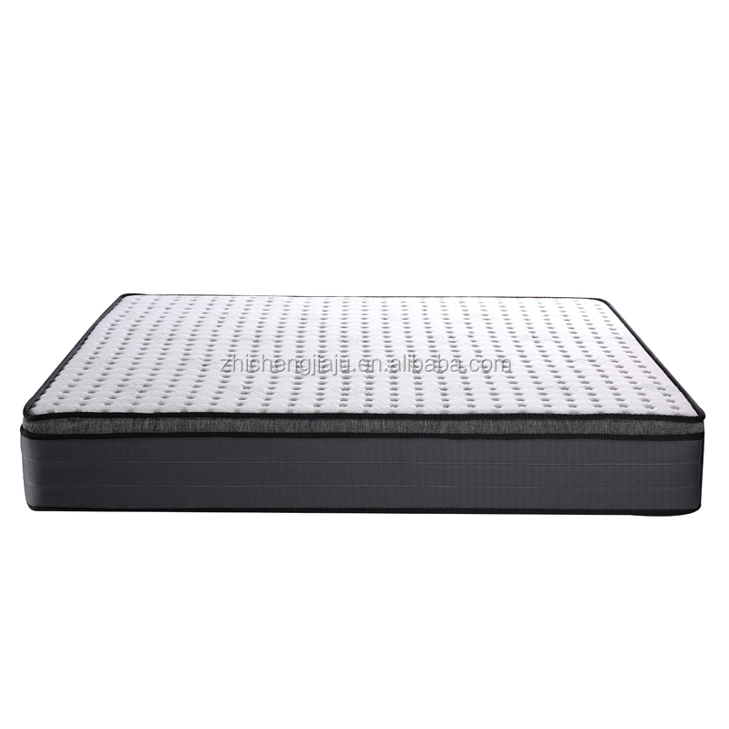 China factory wholesale sleepwell queen size compressed cotton fabric mattress for 5 five star hotel - Jozy Mattress | Jozy.net