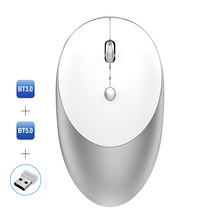SeenDa Bluetooth 5.0/3.0 <strong>Wireless</strong> <strong>Mouse</strong> Three Mode Bluetooth <strong>USB</strong> <strong>Wireless</strong> <strong>Mouse</strong> Silent <strong>Mice</strong> for Laptop Mac Rechargeable <strong>Mouse</strong>