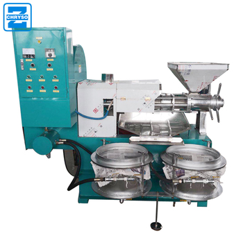 Automatic Soybean Oil Mill | 100kg  screw cold oil press machine