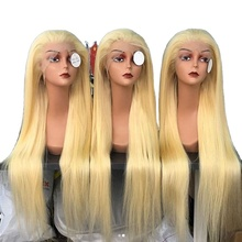 wigs 613 color Lace Front Wigs Brazilian Mi Lisa Remy Hair Body Wave Wig For Black Women Transparent Lace front Wigs 13x6