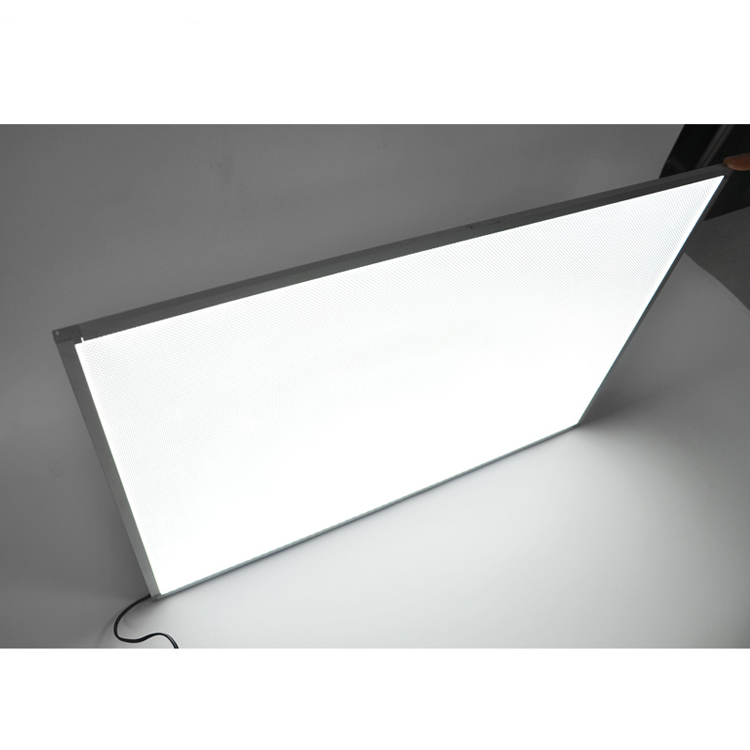 Edgelight AF28A customized size light guide panel acrylic <strong>sheet</strong> crystal backlit led panel with dimmable