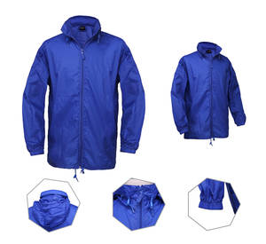 OEM Light foldable rain workman jacket waterproof rain coat