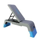 Multi-function Exercise Deck Fitness 3 Incline Adjustable Aerobic Stepper Step Deck