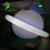 LED Lighting Amazing Decoration PVC Helium Inflatable Jupiter Planet Balloon
