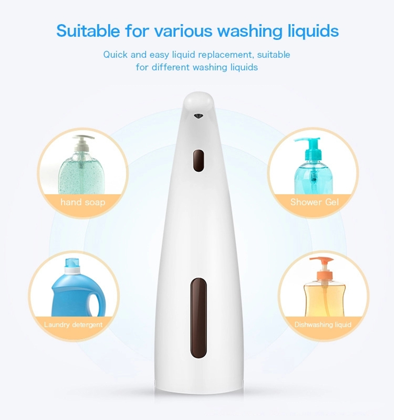 Stainless Steel Wall-mount Liquid Soap Dispenser Hand soap Dispenser For Marketplace Hotel Restaurant Showerroom