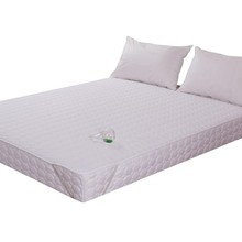 Queen size cheap price <strong>100</strong>% polyester filling thinner bed mattress topper