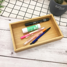 <strong>Bamboo</strong> Desk Organizer Set Desktop <strong>Pen</strong> Storage <strong>Holder</strong>