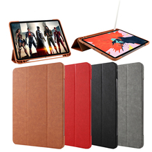 Fashionable Flip Folder Silicone Cover <strong>Case</strong> <strong>For</strong> 2018 New <strong>iPad</strong> Pro 12.9 inch