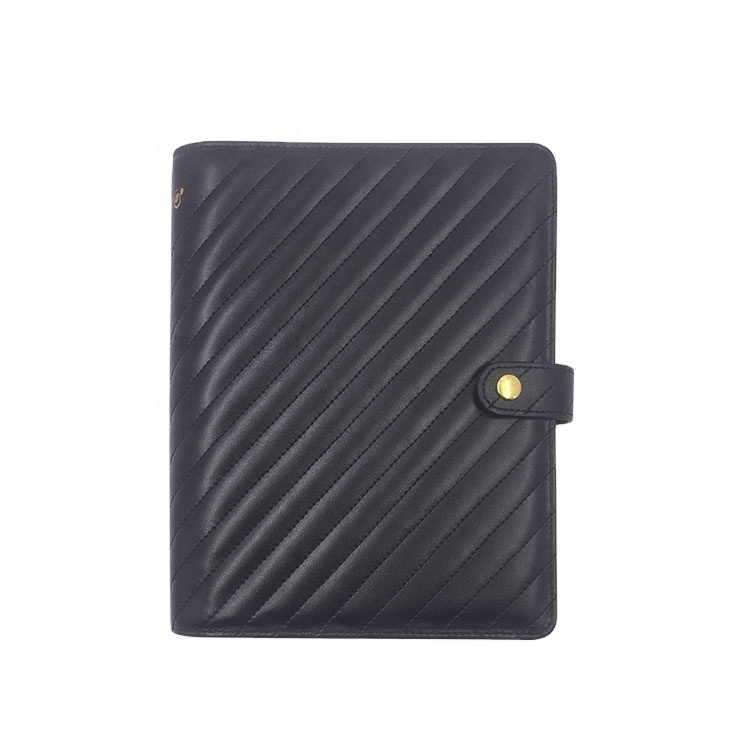 High Quality Durable Pu Leather Handmade Custom Daily Budget Planner