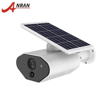 High Clear Waterproof IP Wireless 2 MP Night Vision Surveillance Outdoor HD CCTV Solar or battery Powered Wifi Camera