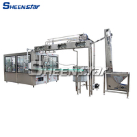 Energy saving machinery and equipment for mineral water plant