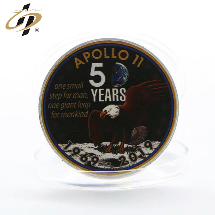 Factory custom stamping  Anniversary Memorial  style gold make your own metal coins