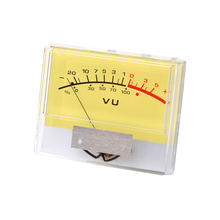 Analog VU Panel Meter Audio