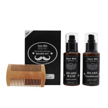 High Quality <strong>Best</strong> Natural Holding mens beard grooming kit for men