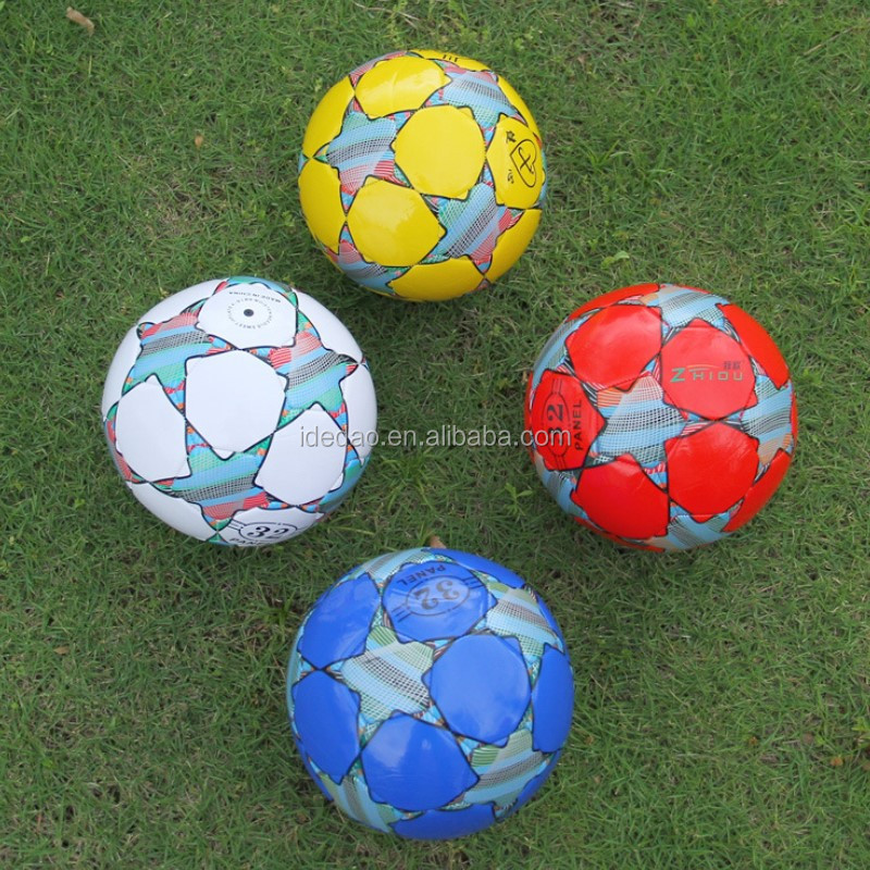 High quality PU leather size 5 soccer <strong>ball</strong>, Thermal bonded Football for Match