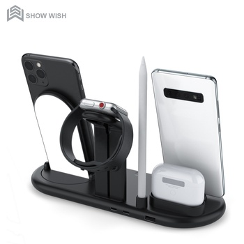 7 in 1 cell phone charging dock station charger stand for apple products for iphone airpods apple pen one charger for all