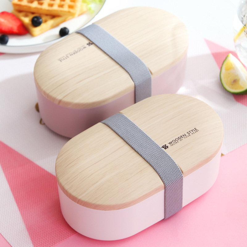 Food grade pp <strong>plastic</strong> with lid Microwave Heated bento lunch box food container for kids adults
