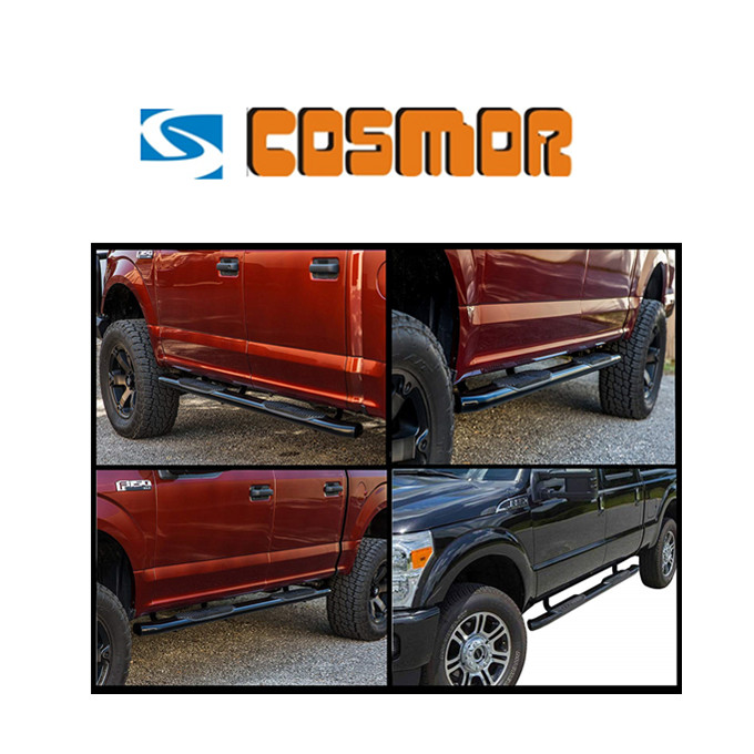 "3"", 4"", 5"", 6"" Stainless Oval Side Bar for Pickup Truck"