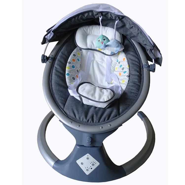 Competitive Price European Indoor And Outdoor Baby Auto Swing With Music
