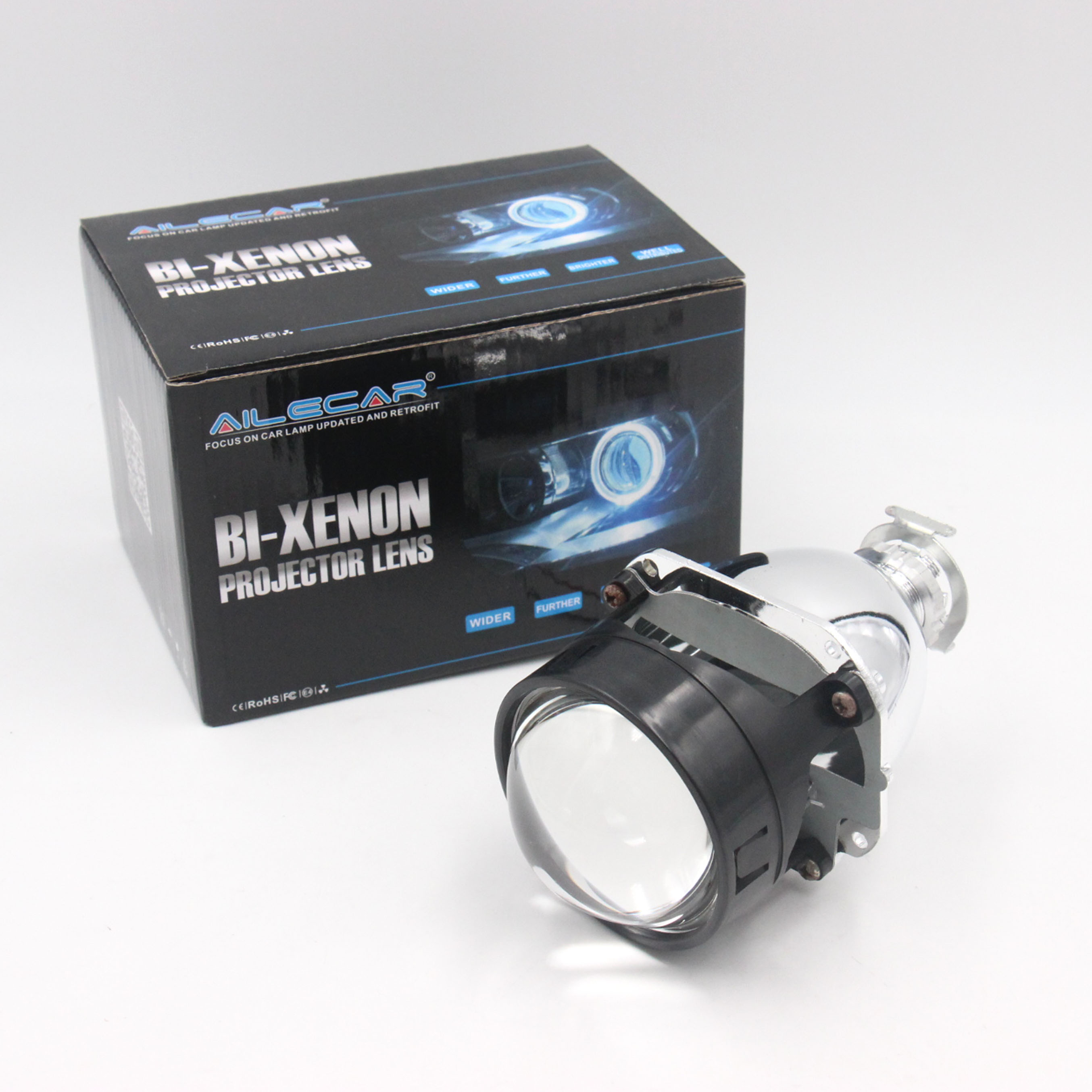 Wholesale 2.5'' Super version <strong>H1</strong> HID Bi-xenon Projector Lens LHD /RHD