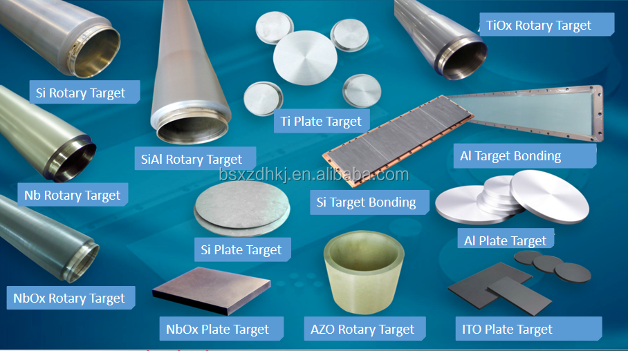High Purity 99.99% SiAl Sputtering target coating material target material