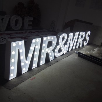 Led Marquee Light Vintage LOVE Marquee Letters