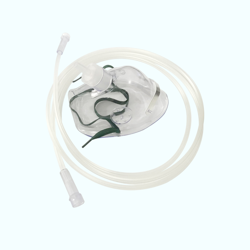 Disposable PVC Child Adult Oxygen Face Masks For Surgical