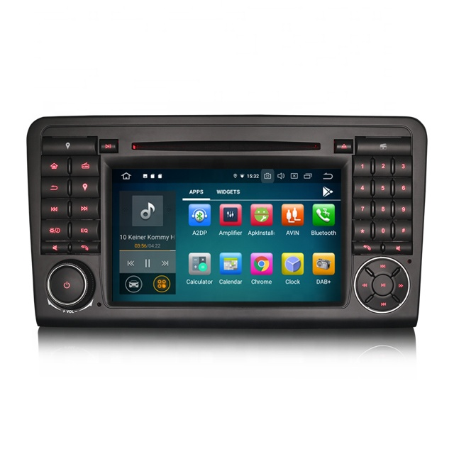 Erisin ES7983L 7 inch 8 Core Android 9.0 GPS DAB Car Stereo CD DVR BT for <strong>Mercedes</strong> ML/GL Klasse <strong>W164</strong> X164