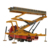 Cangzhou QJ Brand Truck Style Platform Lifting Table For Tile Making Machine