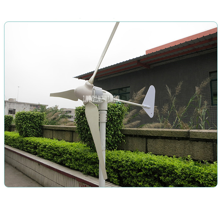 Z-500W Wind Generator 500W 12V/ 24V Wind Power Turbine 3 Blades or 5 Blades Small Wind Generator 740r/m High quality
