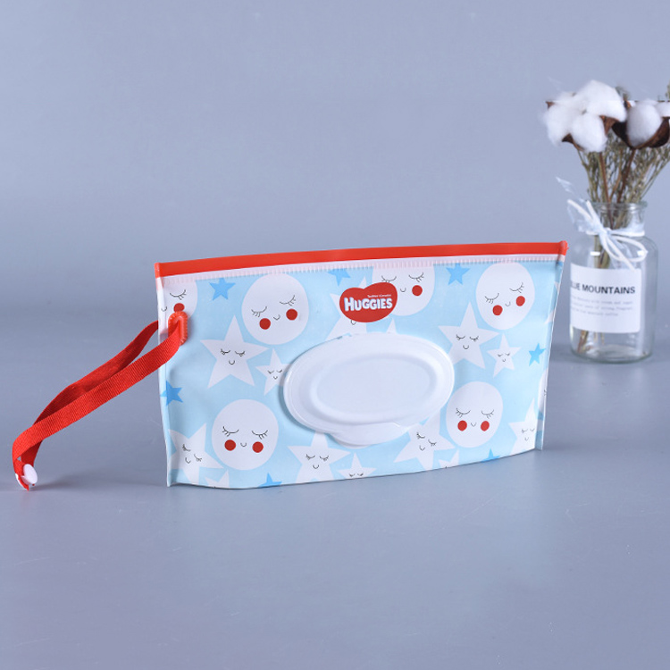 Convenient Reusable Wet Wipes Bag