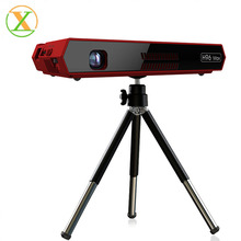 h96 max <strong>projector</strong> RGB LED DLP 854*480 android 6.0 amlogic s912 2gb 16gb 2.4G/5G wifi portable <strong>projector</strong> including BT speaker