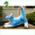 Riding on Hongyi 2m  Inflatable Blue Aaron Dragon For sale