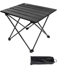Aluminum Portable Folding Camping <strong>Table</strong>,Compact Ultralight Picnic <strong>Table</strong> Roll up with Carrying Bag for Indoor and Outdoor Picnic