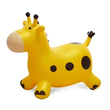 Colorful Eco-friendly Inflatable Bouncing Pvc Jumping Animal Toy And Ride On For Kids