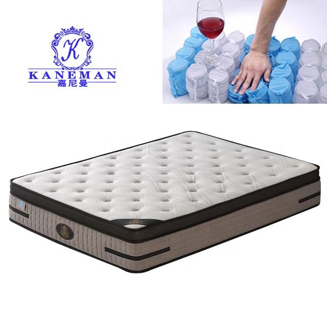 New design dream sleep breathable king size vacuum wire spring mattress factory - Jozy Mattress | Jozy.net