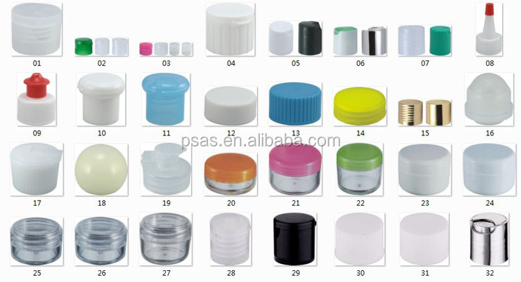 Plastic soft squeeze bottle pointed nozzle caps screw plastic cap with long nozzle